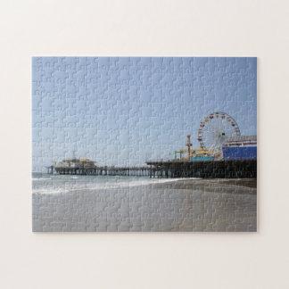 Embarcadero de Santa Mónica Rompecabezas Con Fotos