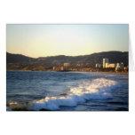 Embarcadero de Santa Mónica según lo visto de la p Tarjeta
