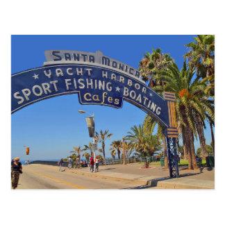 Embarcadero de Santa Mónica Tarjetas Postales