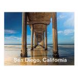 Embarcadero de Scripps en San Diego, California Postales