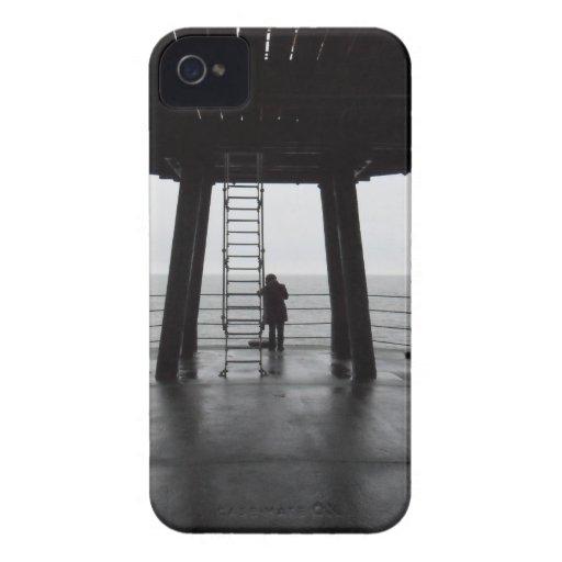 Embarcadero de Whitby iPhone 4 Case-Mate Protectores