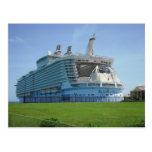 Embarcadero del barco de cruceros de Falmouth Tarjetas Postales