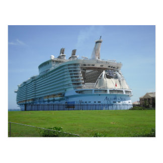 Embarcadero del barco de cruceros de Falmouth Tarjeta Postal