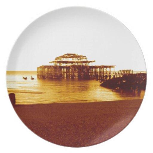 embarcadero del oeste de Brighton (07) Plato