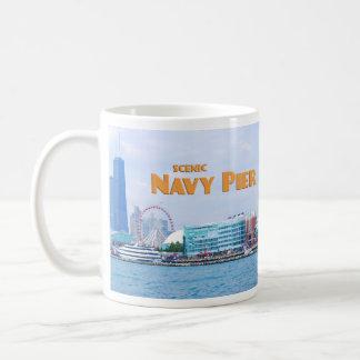 Embarcadero escénico de la marina de guerra - Chic Tazas