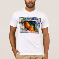 Embarcadero Fancy Santa Clara Pears T-Shirt