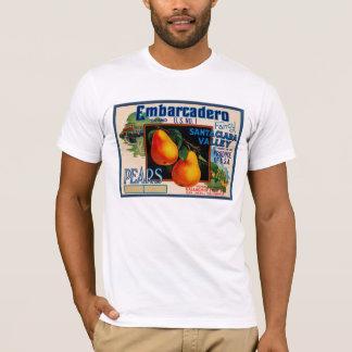 Embarcadero Fancy Santa Clara Pears T-Shirt
