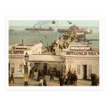 Embarcadero I, Essex, Inglaterra del Clacton-en-Ma Tarjeta Postal