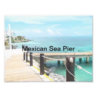Embarcadero mexicano del mar cojinete