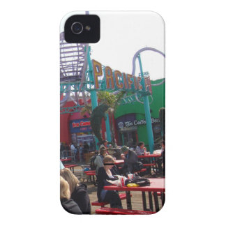 Embarcadero pacífico de Santa Mónica del parque Case-Mate iPhone 4 Carcasa