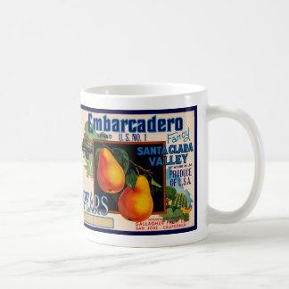 Embarcadero Pears Coffee Mug