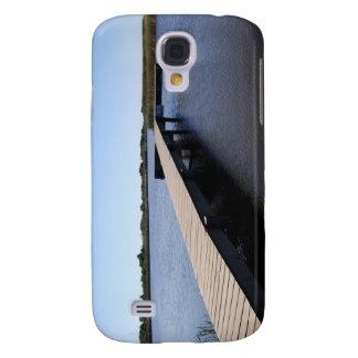 Embarcadero, saladar, isla de Nantucket Samsung Galaxy S4 Cover