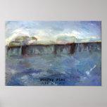 Embarcadero tempestuoso - Juan Lintern Posters