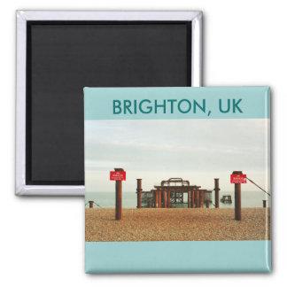 Embarcadero viejo de Brighton Imán Cuadrado