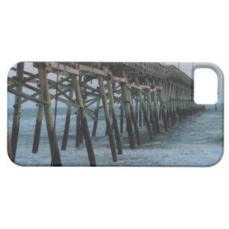 Embarcadero y ondas hermosos (isla del roble, NC) iPhone 5 Fundas