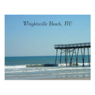 Embarcadero y playa tarjetas postales
