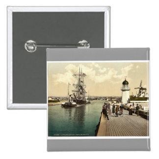 Embarcadero y puerto, Littlehampton, foto rara de  Pin
