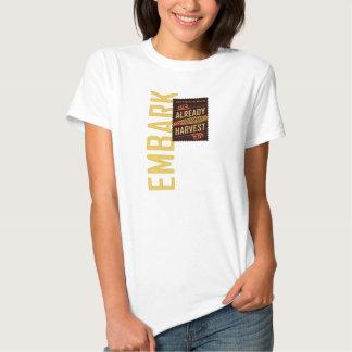 Embark women's LDS shirt. (D&C 4) Shirt
