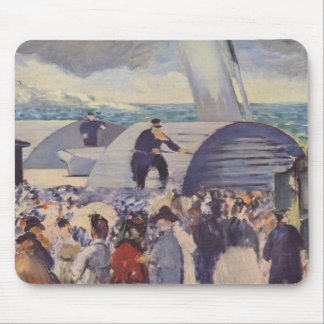 Embarkation after Folkestone by Edouard Manet Mouse Pads