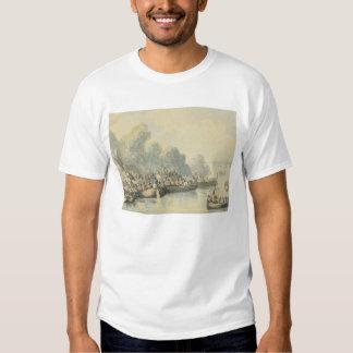 Embarkation at Southampton on 20th June after Lord Tee Shirt