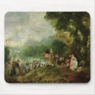 Embarkation for Cythera, 1717 Mouse Pad
