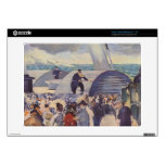 Embarkation of the Folkestone by Edouard Manet Decal For Acer Chromebook
