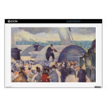 Embarkation of the Folkestone by Edouard Manet Decal For Laptop
