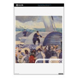 Embarkation of the Folkestone by Edouard Manet Skins For The PS3 Slim