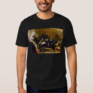 Embarkation of the Pilgrims by Robert W. Weir Tee Shirt