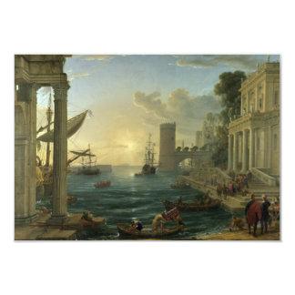 Embarkation of the Queen of Sheba - Claude Lorrain Card
