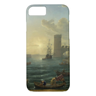 Embarkation of the Queen of Sheba - Claude Lorrain iPhone 8/7 Case