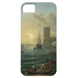 Embarkation of the Queen of Sheba - Claude Lorrain iPhone SE/5/5s Case