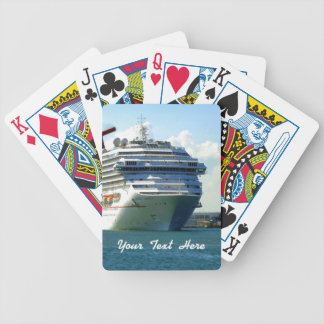 Embarking Bow Bicycle Playing Cards