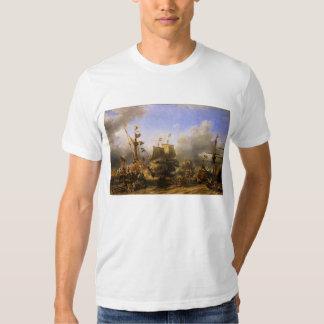 Embarkment of de Ruyter and de Witt at Texel 1667 Shirt