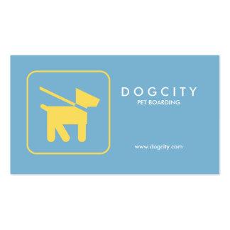 Embarque moderno del mascota de la tarjeta de visi tarjetas de negocios