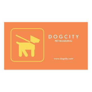 Embarque moderno del mascota de la tarjeta de visi tarjeta de visita