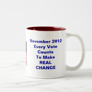 Embarrassed Obama Voter Two-Tone Coffee Mug