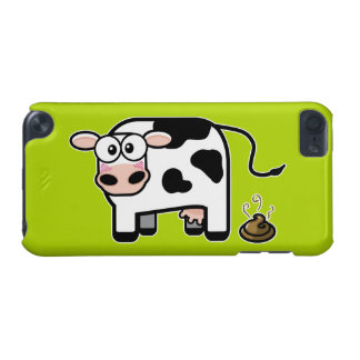 Embarrassed Pooping Cow iPod Touch (5th Generation) Covers