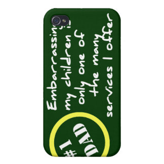 Embarrassing My Kids  Cover For iPhone 4