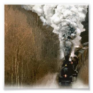 Embarrilamiento del tren del motor de vapor abajo cojinete