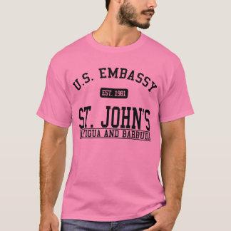 Embassy St. John's, Antigua and Barbuda T-Shirt