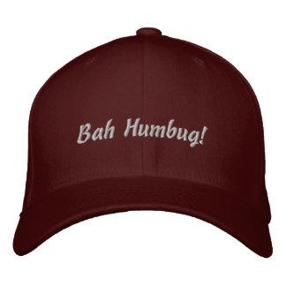 ¡Embaucamiento de Bah! gorra Gorra De Beisbol Bordada