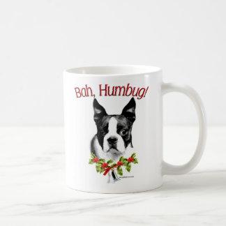 Embaucamiento de Boston Terrier Bah Taza De Café