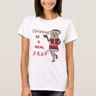 Embaucamiento divertido Santa de Bah del navidad Playera
