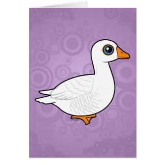 Embden Goose Card