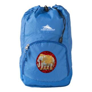 Embellished Indian Elephant Backpack
