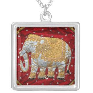 Embellished Indian Elephant Custom Necklace
