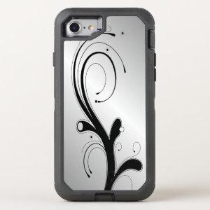 Embellished White OtterBox Defender iPhone 7 Case