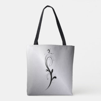 Embellished White Tote Bag