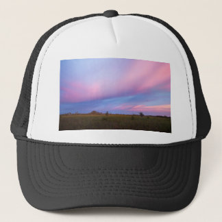 Embers in the Sky over Florida Everglades Trucker Hat